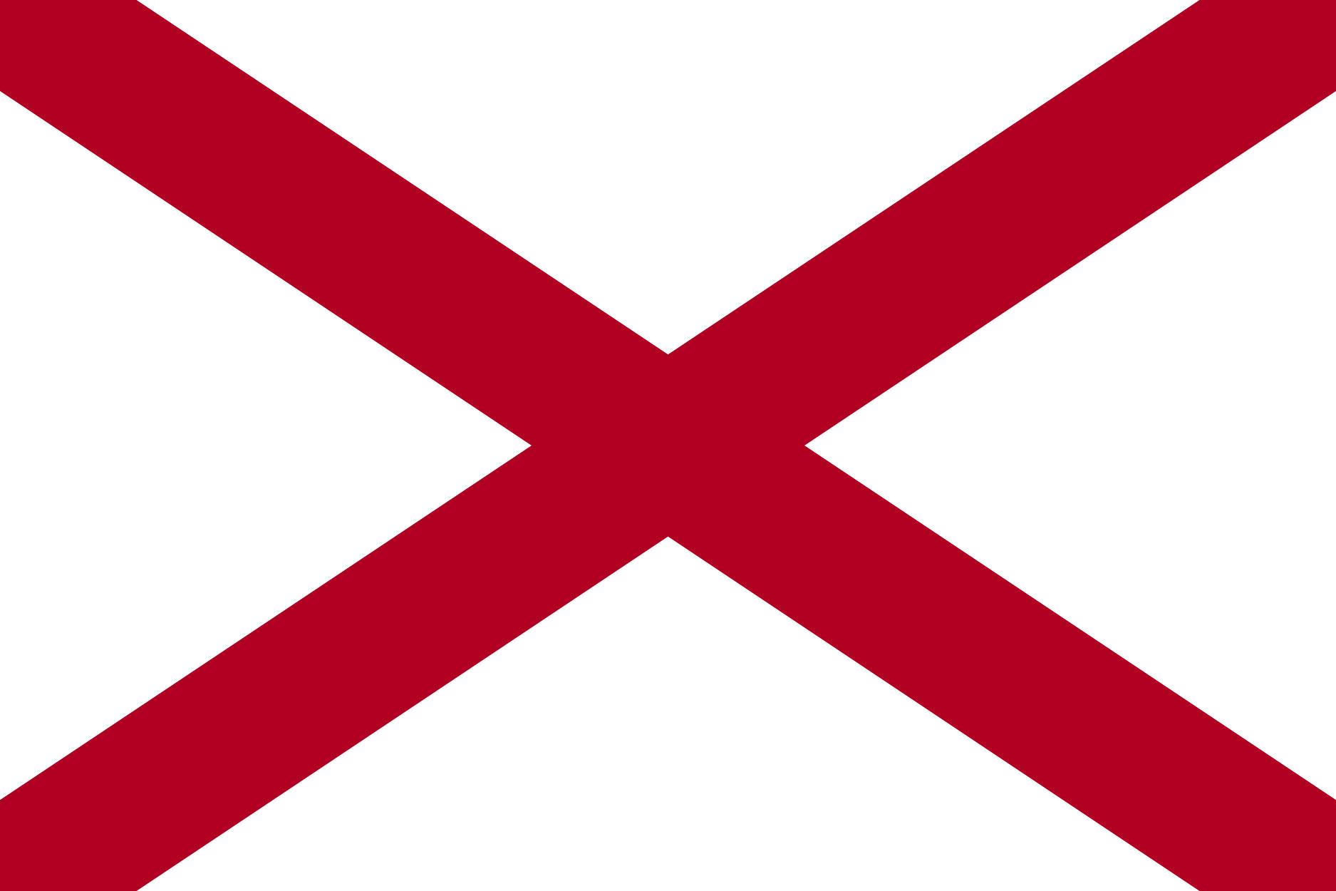 Alabama State Flag Colors