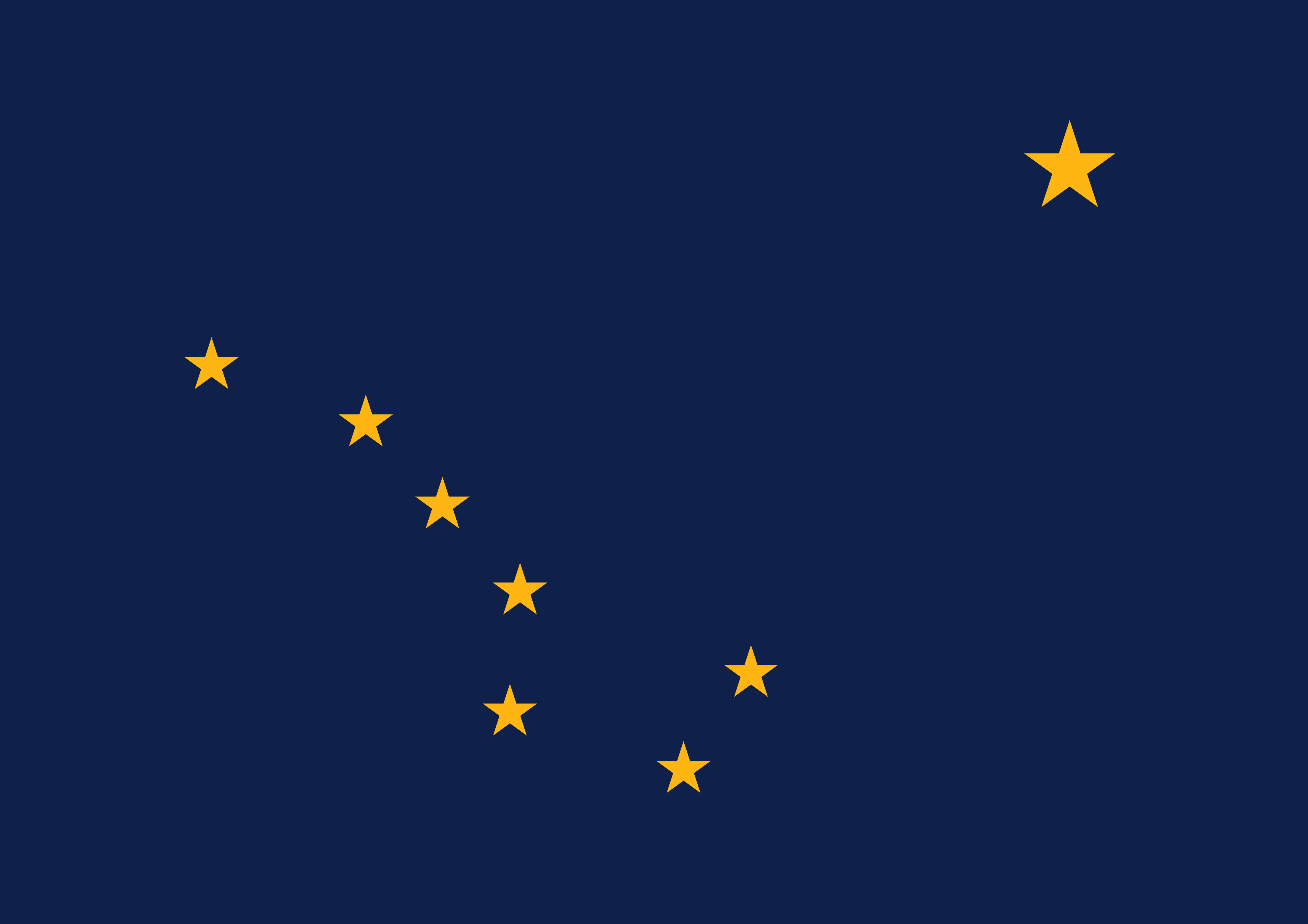 Alaska State Flag Colors