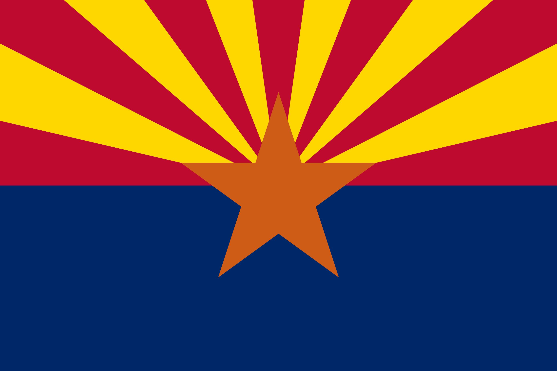 Arizona State Flag Colors