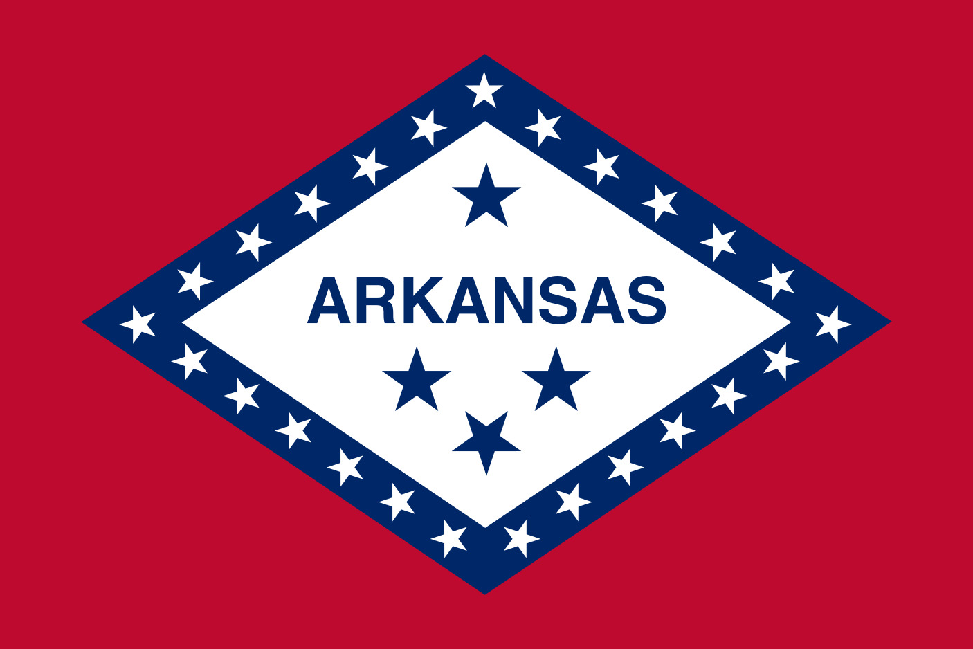 Arkansas State Flag Colors