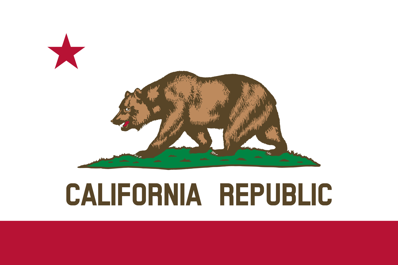 California State Flag Colors
