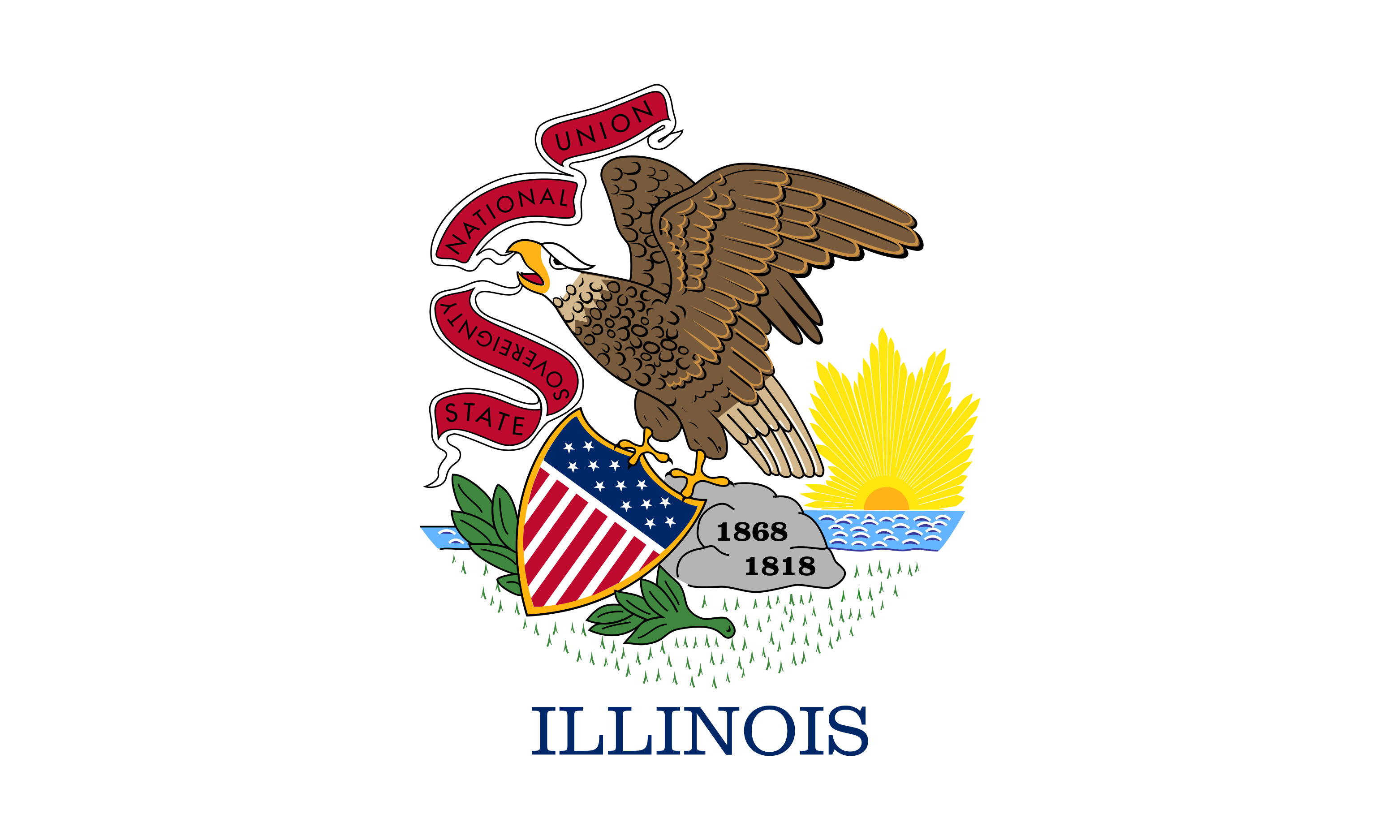 Illinois State Flag Colors