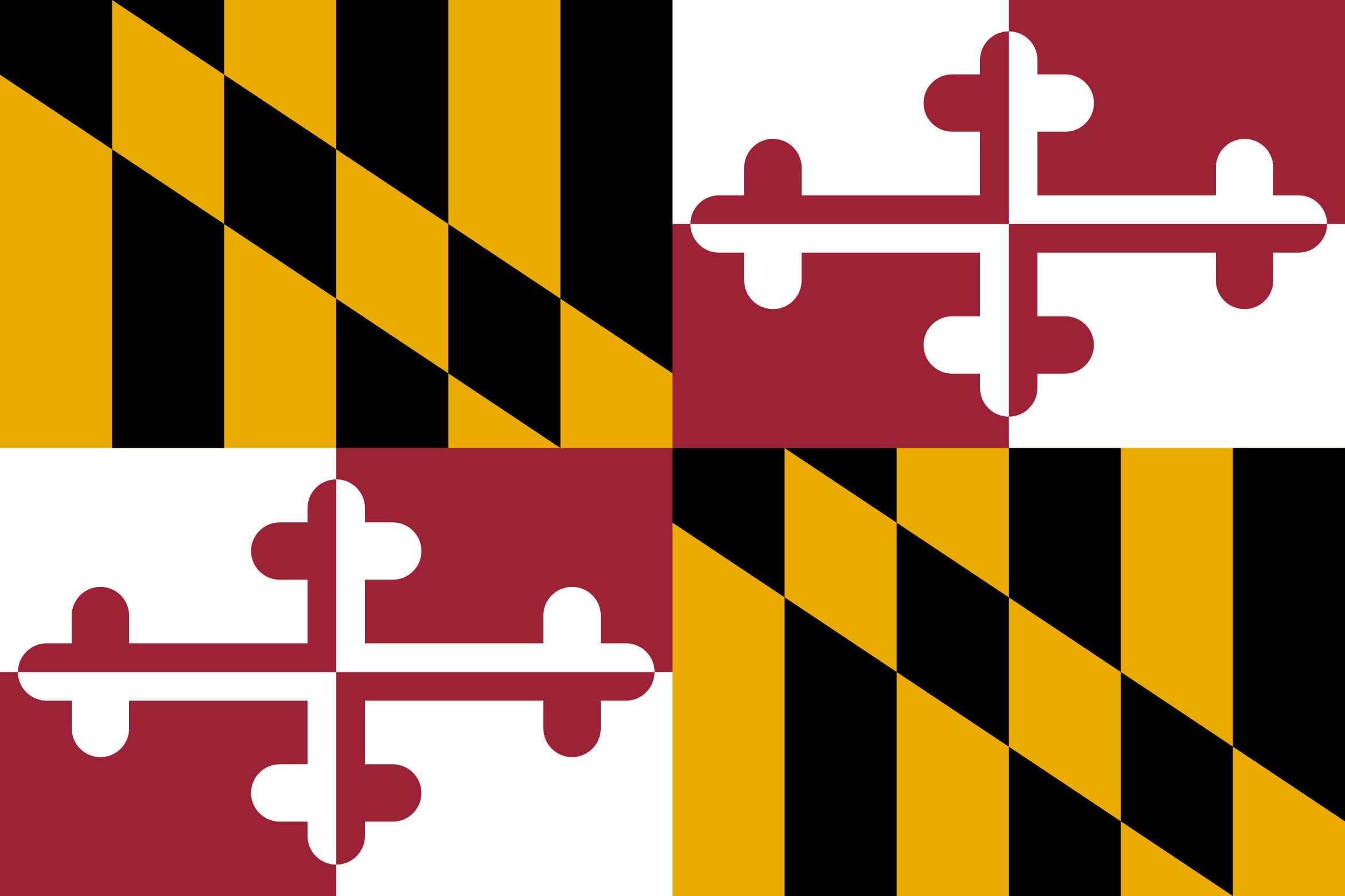 Maryland State Flag Colors