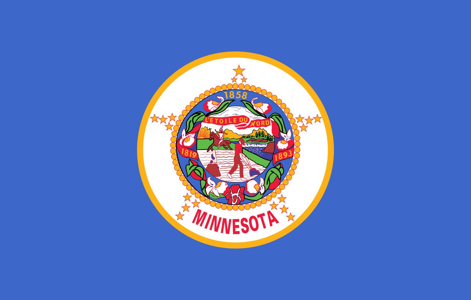 Minnesota State Flag Colors