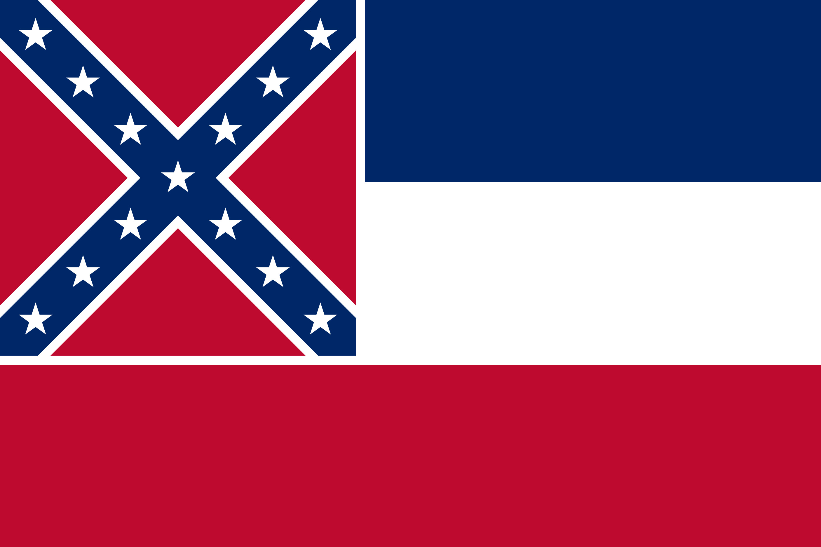 Mississippi State Flag Colors