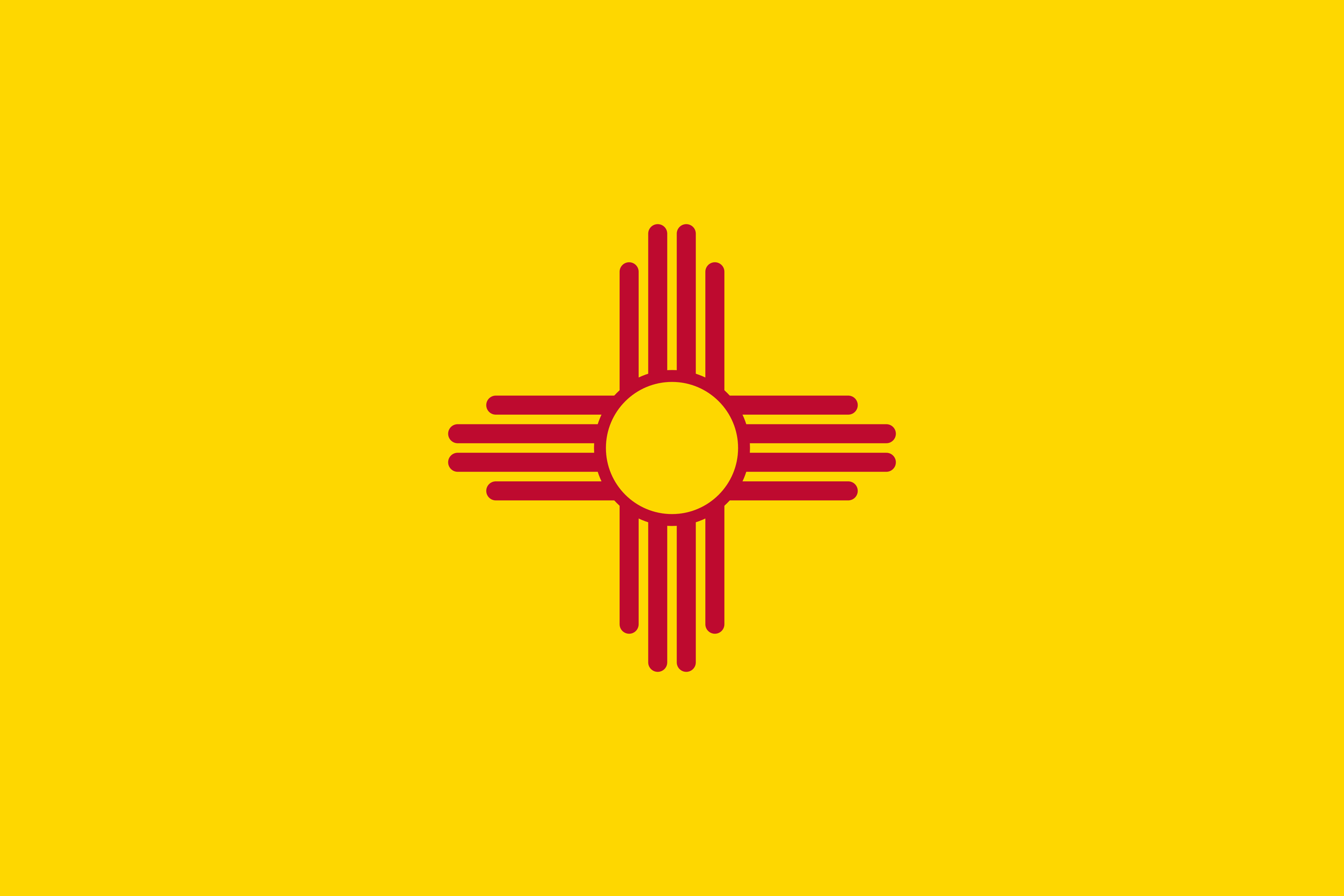 New_Mexico State Flag Colors