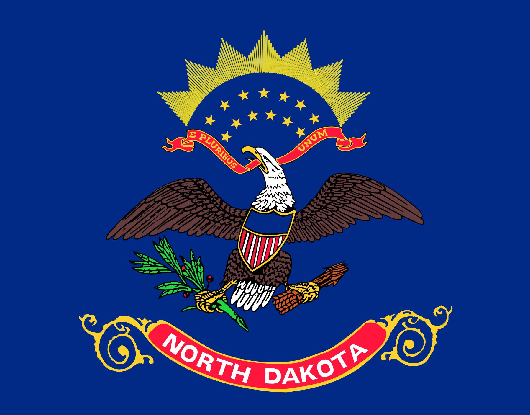 North_Dakota State Flag Colors