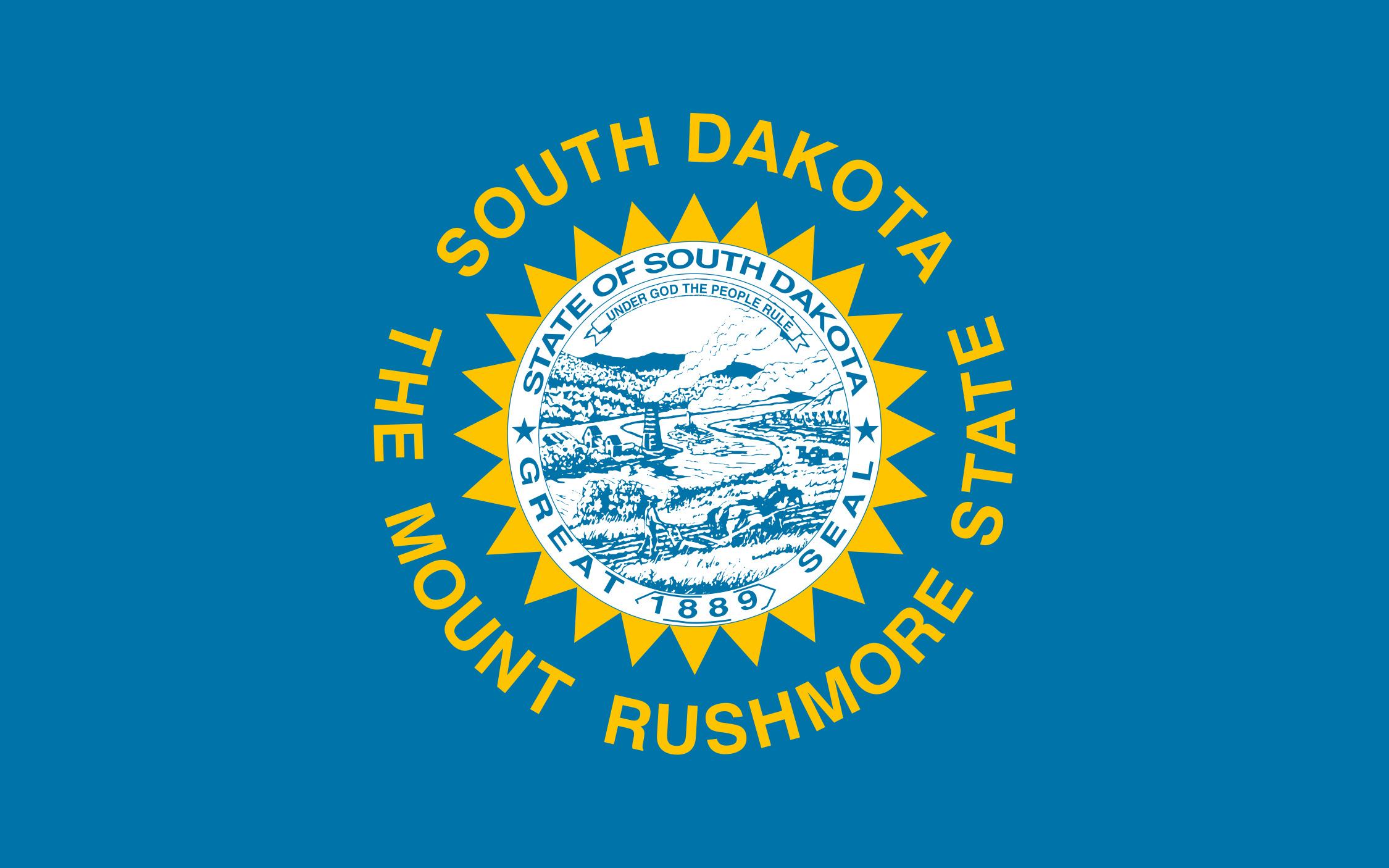 South_Dakota State Flag Colors