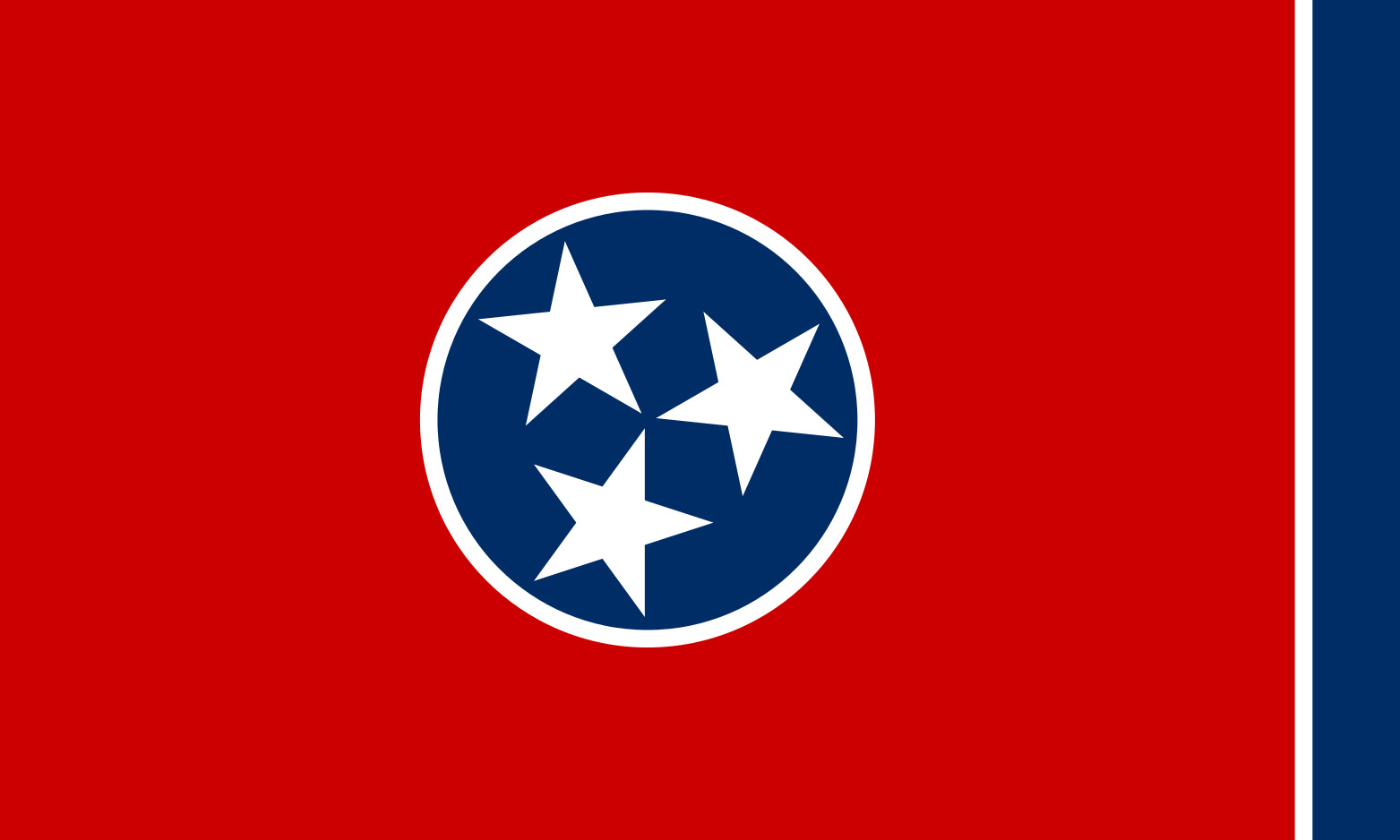 Tennessee State Flag Colors