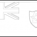 Anguilla Flag Colouring Page