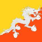 Bhutan Flag Colours