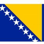 Bosnia and Herzegovina Flag Colours