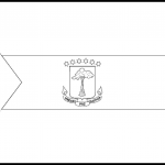 Equatorial Guinea Flag Colouring Page