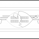 Eswatini Flag Colouring Page