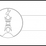 FLNKS Flag Colouring Page
