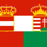 Flag of Austria-Hungary 1869-1918