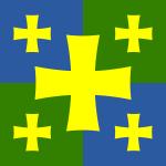 Flag of Kutaisi Georgia