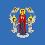 Flag of Minsk Belarus