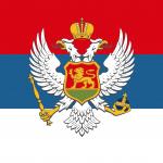 Flag of Montenegro 1905–1918