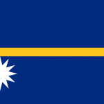 Nauru Flag Vector - Free Download