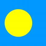 Palau Flag Image - Free Download