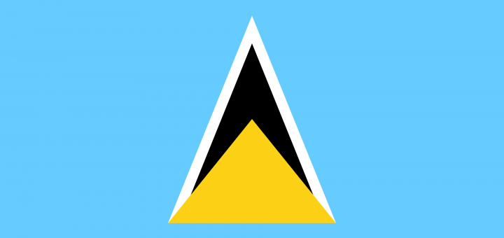 Saint Lucia Flag Vector – Free Download