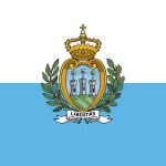 San Marino Flag Vector - Free Download