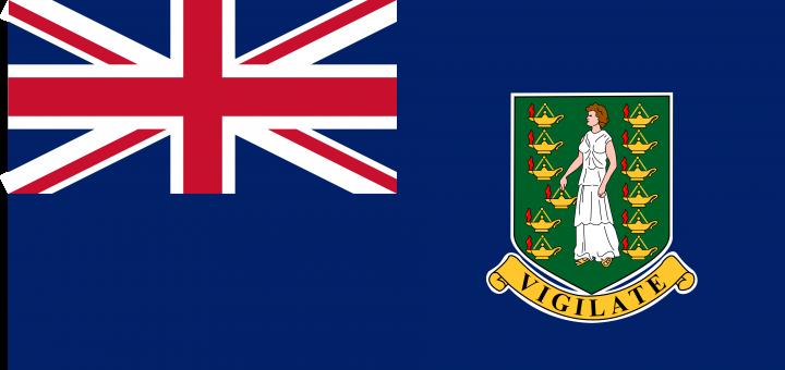 The British Virgin Islands Flag