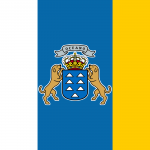 Flag of the Canary Islands: JPG PD PNG EPS SVG GIF and more