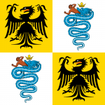 Flag of the Duchy of Milan 1450