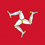 The Isle of Mann Flag Vector - Free Download