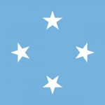 Micronesia Flag Colours