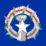 The Northern Mariana Islands Flag Vector - Free Download