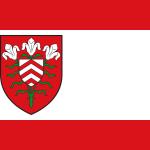 Flagge der Stadt Halle Westfalen