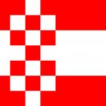 Flagge der Stadt Hamm