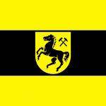 Flagge der Stadt Herne