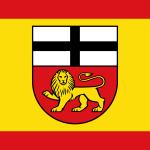 Flagge der kreisfreien Stadt Bonn