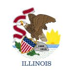 Illinois State Flag Colors - HTML HEX, RGB, HSL, CMYK, HWB and NCOL