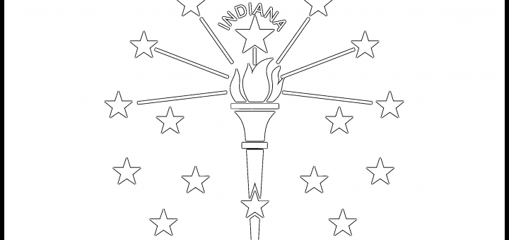 Indiana_Flag_Coloring_Page