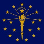 Indiana State Flag Colors - HTML HEX, RGB, HSL, CMYK, HWB and NCOL