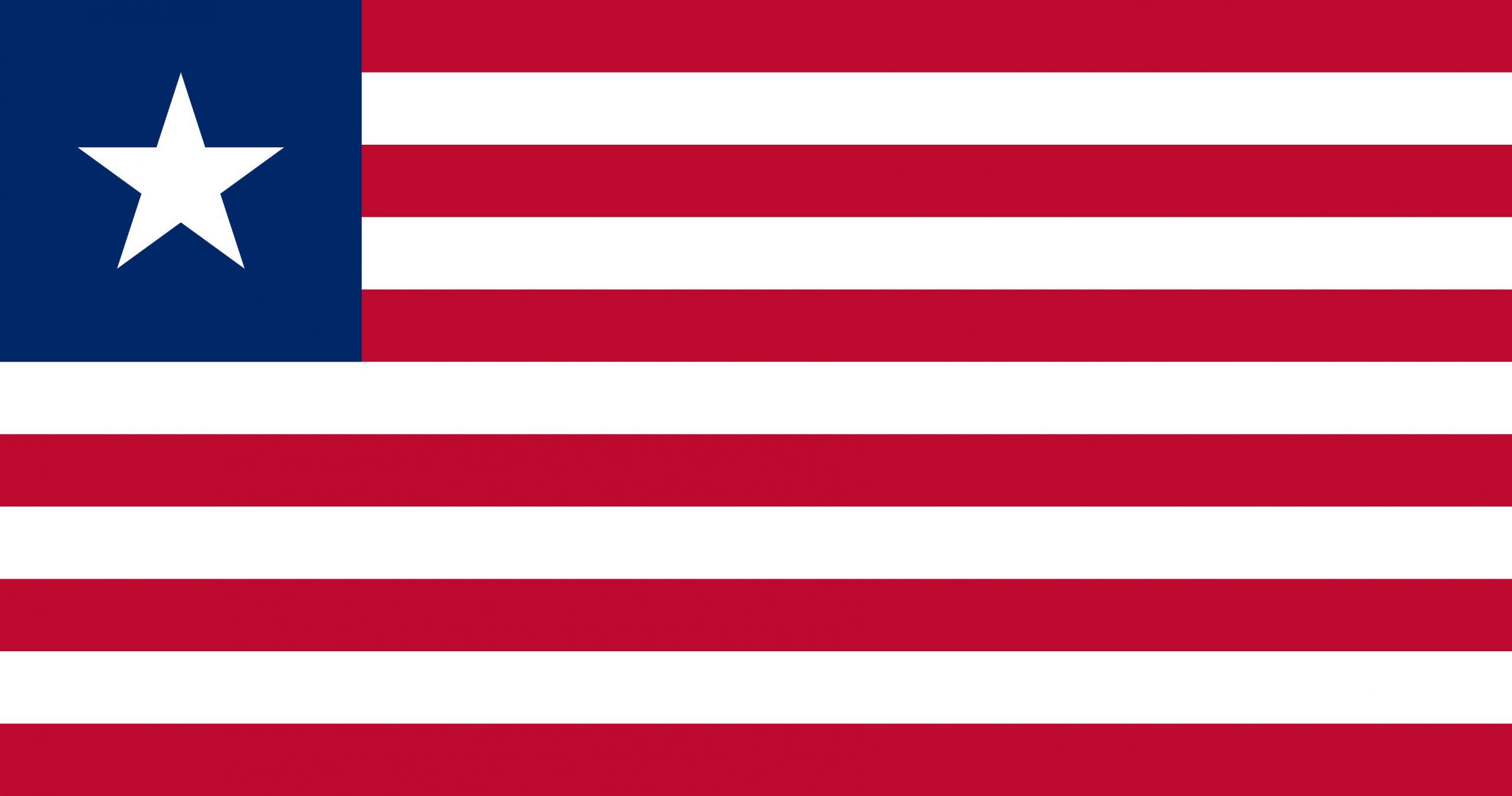 Liberia Flag Colours