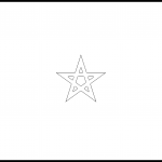 Morocco Flag Colouring Page