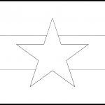 Myanmar Flag Colouring Page