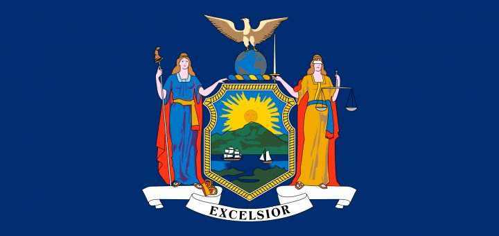 New York State Flag Colors