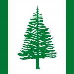 Norfolk Island Flag Colours