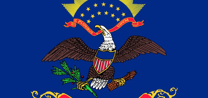 North Dakota State Flag Colors