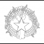 Northern Mariana Islands Flag Colouring Page