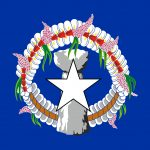 Northern Mariana Islands Flag Colours
