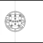 Portugal Flag Colouring Page