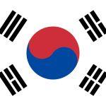 South Korea Flag Colours
